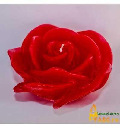 Lumanare Decorativa Trandafir din Rubin