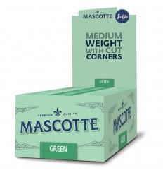 Cutie cu Hartie de infasurat Mascotte Green 2x50, 50 pachete