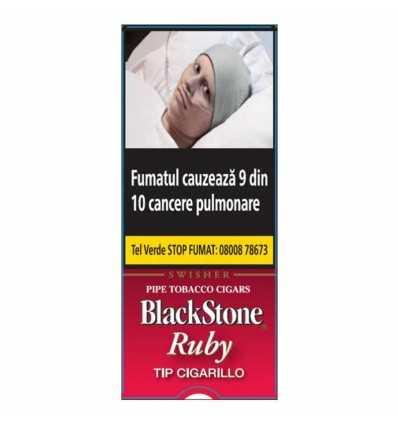 Blackstone Tip Cigarillos Ruby 5 ( Cherry )