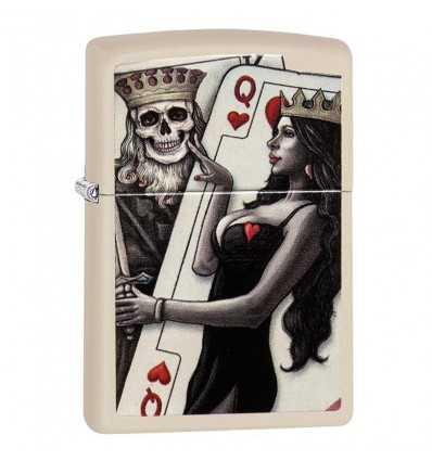 Brichete Zippo Zippo Skull, King, Queen Beauty