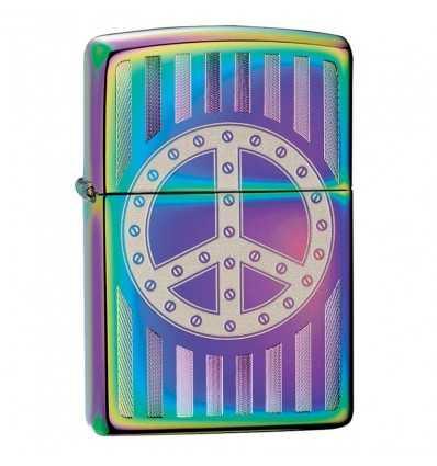 Brichete Zippo Zippo Spectrum Peace Emblem