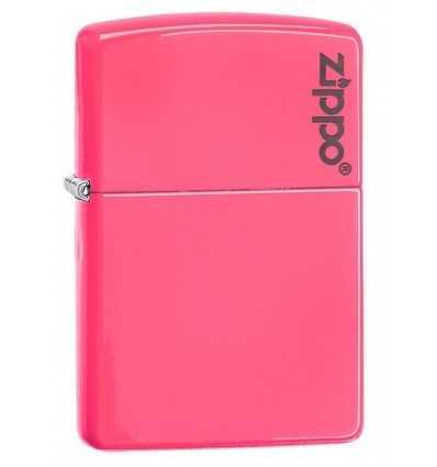 Brichete Zippo Zippo Neon Pink Logo