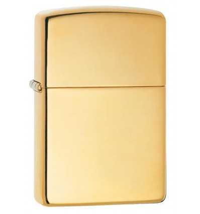 Brichete Zippo Zippo High Polish Brass Solid Brass