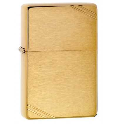 Brichete Zippo Zippo Vintage Brushed Brass Slashes