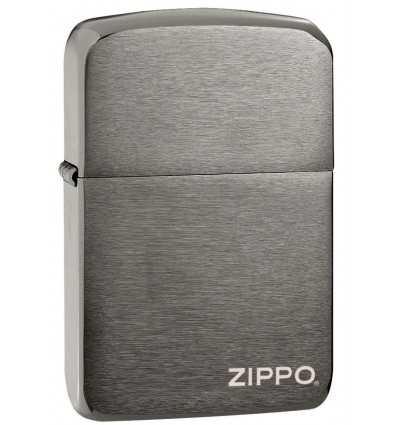 Brichete Zippo Zippo 1941 Replica Black Ice Logo
