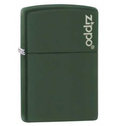 Brichete Zippo Zippo Green Matte Logo