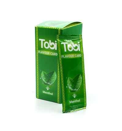 Card aromatizant Menthol / Tobi