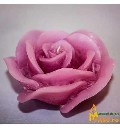 Lumanare Decorativa Trandafir din Ametist