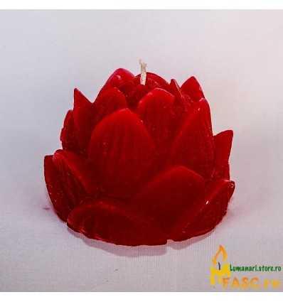 Lumanare Decorativa Lumanari Lotus din Rubin