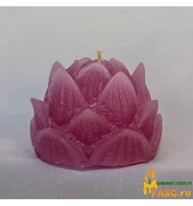 Lumanare Decorativa Lotus din Ametist
