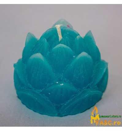 Lumanare Decorativa Lotus din Safir