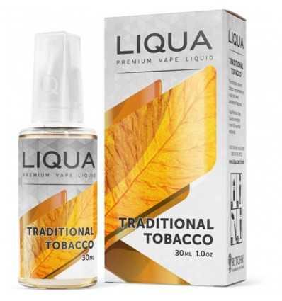 Lichide Liqua 10 ml Traditional Tobacco