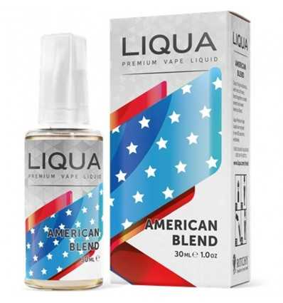 Liqua 30 ml American Tobacco 0% Nicotina