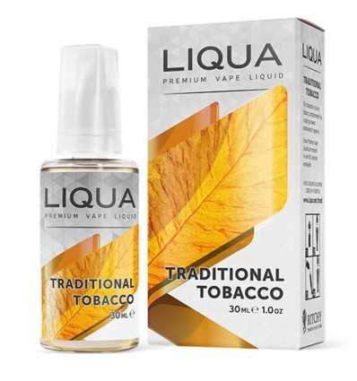 Liqua 30 ml Traditional Tobacco 0% Nicotina
