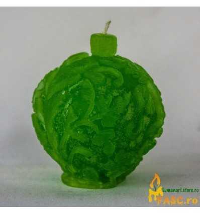 Lumanari Decorative, Lumanari Glob din Emerald