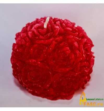 Lumanari Decorative, Lumanari Rose din Rubin