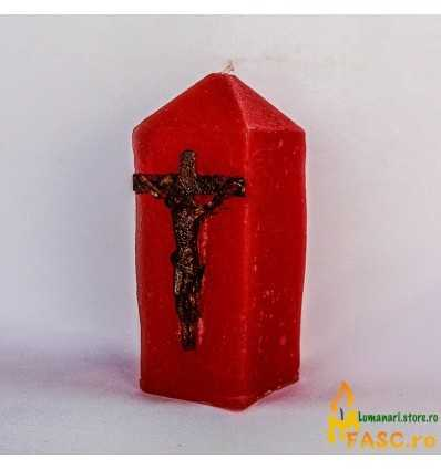 Lumanari Decorative Lumanari Salvator Mundi din Rubin