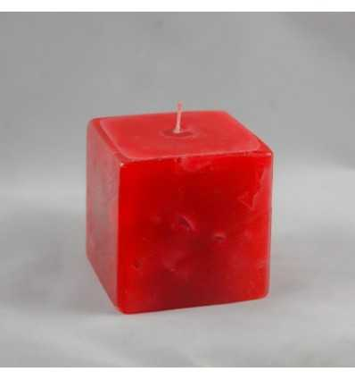 Lumanari Decorative, Lumanari Cubix Mic din Rubin