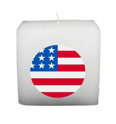 Lumanari Tematice Lumanare Cub Drapel SUA