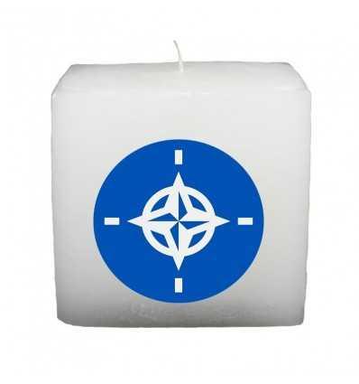 Lumanari Tematice, Lumanare Cub Drapel Nato