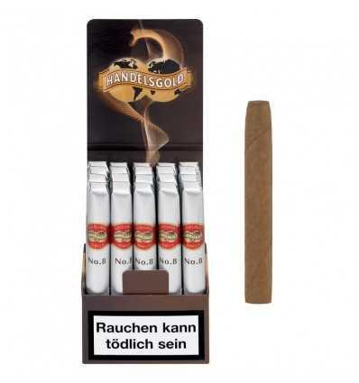 Tigari de Foi, Handelsgold Gold Label Vanilla no. 8 - 20 buc