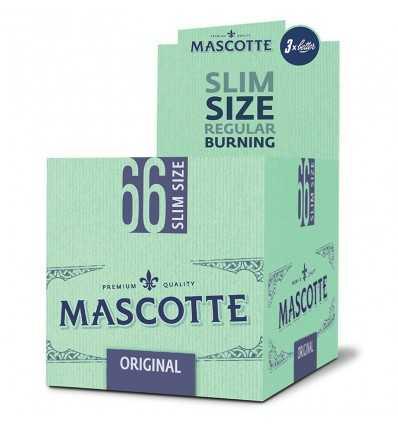 Foite de Rulat Cutie cu foite de rulat tigari Mascotte Slim 66, 50 pachete