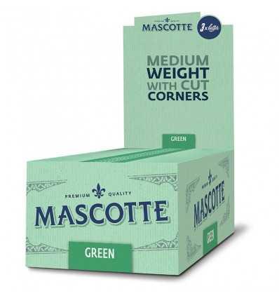 Foite de Rulat Cutie cu foite de rulat tigari Mascotte Green 2x50, 50 pachete