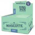 Cutie cu foite de rulat tigari Mascotte King Size Slim M, 50 pachete