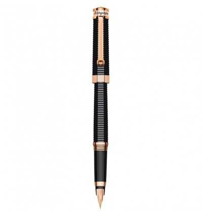 Montegrappa NeroUno Red Gold Fountain Pen, Rose Gold