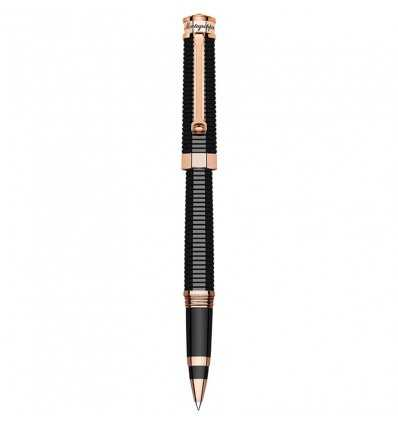 Montegrappa NeroUno Red Gold Rollerball Pen, Rose Gold