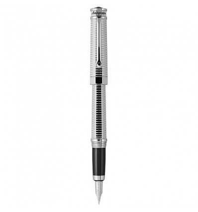 Stilouri, Montegrappa NeroUno All-Metal Fountain Pen, Palladium