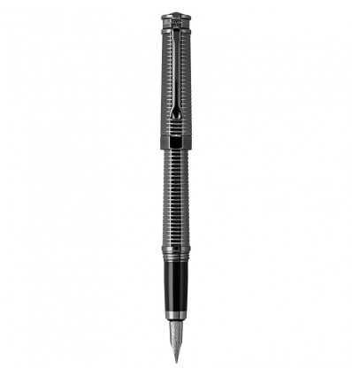 Stilouri, Montegrappa NeroUno All-Metal Fountain Pen, Gun Metal