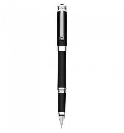 Stilouri, Montegrappa Parola Fountain Pen, Solid Black